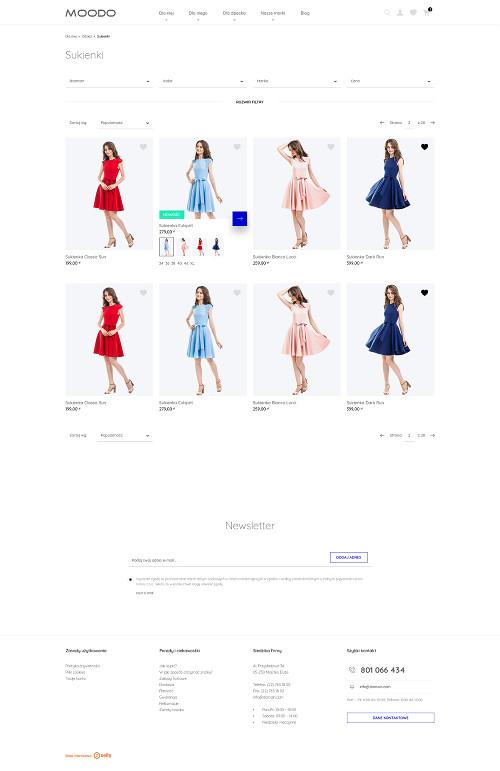 Szablony Premium sklepu internetowego